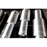 China Stainless Steel Hot Forged Step Shaft Step Axis Heat Treatment Machined wholesale