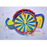 China Interactive Sweeper Adult Inflatable Games Inflatable Kapow Phantom Blue / yellow wholesale
