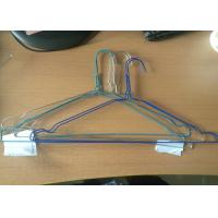China Galvanized Strong Steel Wire Shirt Hangers 16 And 18 Inches 1.8mm - 2.5mm wholesale