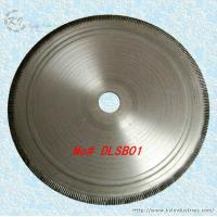 China Diamond Cold-pressed Notched Rim Lapidary Saw Blade for Cutting Agate Jasper Opal - DLSB01 wholesale