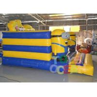 Quality PVC Cartoon Theme Inflatable Despicable Me Bouncer Castle For Kids Indoor Game for sale