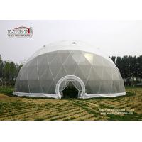 China Big Dome Tent for Outdoor Celebrations Party Events with Ball Shape Structure wholesale