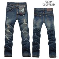 Buy cheap Branded Dsquared Jeans for Men Straight Pants Classic Style from wholesalers