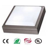 China 20W Square Outdoor LED Wall Light With Philips Chip , High Power IP65 Led Wall Pack Light wholesale