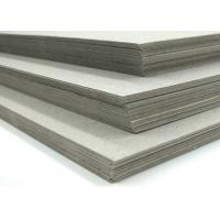 Buy cheap Laminated and Uncoated 470g Grey Cardboard for bags in reels or pallets from wholesalers