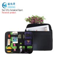 Nylon Travel GRID Gadget Organizer For Digital Devices 28*21 Cm