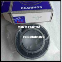 China Double Row 5210VV , 3210 2RS Angular Contact Ball Bearing Pre Lubricated wholesale