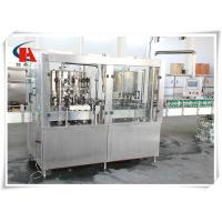 China Small Tin Carbonated Beverage Filling Machine 4.5KW Power High Accuracy wholesale