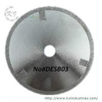 China Electroplated Cutting Blades - DESB03 (Straight protective teeth) wholesale