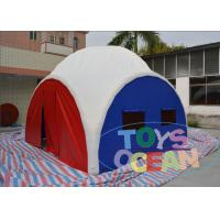 China Excellent Design Inflatable Tents Inflatable Garage Tent For Camping / Hunting wholesale