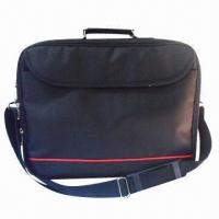 China Cost-effective laptop bag, made of 600D/PVC, fits for 15.6 laptop wholesale