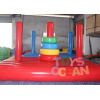 China Air sealed Inflatable Toss Game Target Throwing Sport Commercial wholesale