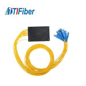 China FTTX System Fiber Optic Audio Cable Splitter SC/UPC 1x32 Mini PLC Coupler wholesale