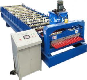 China High Speed Corrugated Wall And Siding Panel Roll Forming Machine , Metal Wall Siding Sheet Making Machine wholesale