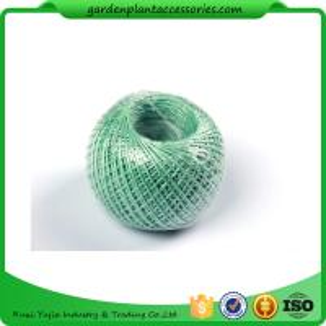 China 100M Length Twine Jute Garden Plant Ties , Blue Flexible Garden Tie wholesale