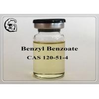 China Safe Organic Steriods Solvents Injectable Anabolic Steroids Medical Grade Benzyl Benzoate 120-51-4 wholesale