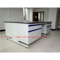 China Scratch / Corrrosion / Acid / Alkali -Resistant Chemistry Lab Furniture With Sink And Faucet , Science Lab Workstations on sale