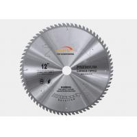 China Fine Tooth Circular Saw Blade For Frame Cutting , Alloy Steel Metal Cutting Saw wholesale