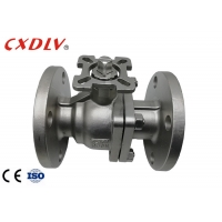 China CF3M ANSI150 Stainless Steel Ball Valve 2 Pieces Full Port wholesale