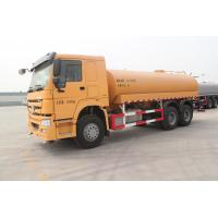 China EURO II SINOTRUK HOWO 6x4 16cbm Water Tank Truck With HW76 Cabin And ZF Steering wholesale