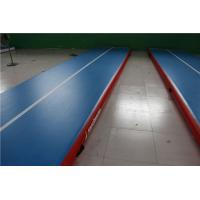 China Higher Pressure Gymnastics Inflatable Tumble Track For Home Wear Resistance wholesale