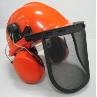 China Safety Helmet, Face Shield and Ear Muff combination kit Forestry Safety Kit wholesale