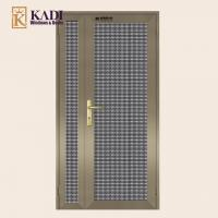 China Aluminium Security Screen Doors For Forced Entry Prevention Model: 86 wholesale