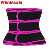 China OEM Three Strap Waist Trainer Neoprene Stomach Corset For Weight Loss wholesale