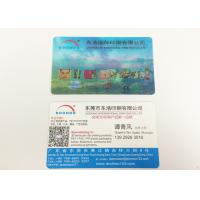 China Two Sides Personalised 3D Printed Products Lenticular Business Cards wholesale