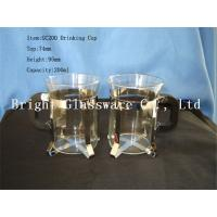 China glass shot glass with handle for wholesale wholesale