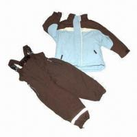 Buy cheap Children's suit/skiwear, made of polyester fabric, waterproof and breathability from wholesalers