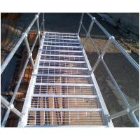 China Sewage Treatment Steel Grating Plate , Stainless Steel Floor Grating Cold Rolled wholesale