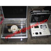 China IIJ-II Dielectric oil strength analyzer/ transformer oil BDV tester/Oil dielectric Test Equipment on sale