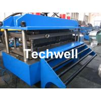 China Polyurethane Sandwich Panel Production Line For Color Steel With PLC Touch Screen Control wholesale