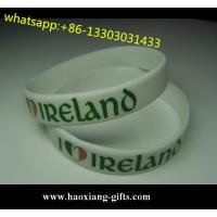 China Professional Cheap glow in dark Custom Silicone Wristband/bracelet wholesale