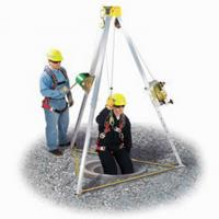 China Factory Supply Emergency Safety Rescue Tripod Safety Rescue Tripod With Winch on sale