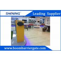 China 100W 1.5s - 6s Operation Time Boom Gate System With Retractable Swing Arm wholesale