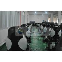 China Newest Hydraulic Black Motion Theater Chair With Dustproof Plastic Cover on sale