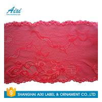 China Stretch Lace Nylon Embroidery Lace Fabric Spandex Lycra Lace Fabric wholesale
