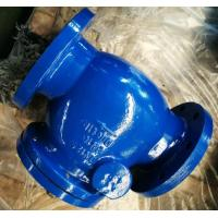 China DI Construction Flanged Swing water check valve with Cast iron / Ductile Iron DIN 3202 F6 wholesale