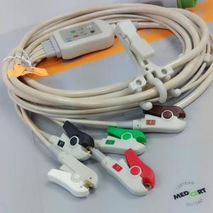 China Kontron 7251 patient mintor 5lead ECG cable ,12pins wholesale