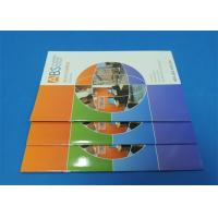 China Full Color Saddle Stitch Book Printing Service With Perfect Binding A6 wholesale