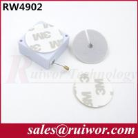 China Adhesive ABS Plate Plastic Pull Box With Retractable Stainless Steel Wire Rope wholesale