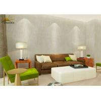 China Villa Seamless Interior Protective Wall Coverings Fabric With Bamboo Charcoal Layer wholesale