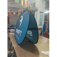 China Trade Show Pop Up Banner Stands Horizontal Full Color Printing wholesale