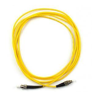 China ST-FC Singlemode / Multimode Optical fiber patch cord Simplex / Duxplex OTDR Certicated wholesale