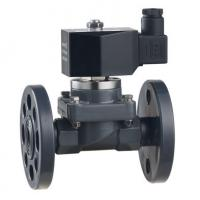 China ZCF-P-F/H series 2-way flange and quick fitting anti-corrosive solenoid valve  DN15~40mm wholesale