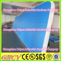 China OEM Inflatable Body & Fitness Building Tumble track wholesale