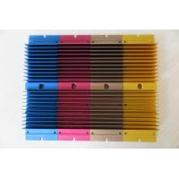 China Colour Anodized Aluminium Heat Sink Profiles with CNC Milling Processing wholesale