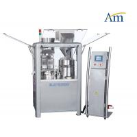 Fully Automatic Capsule Filling Machine 000 Hole Plate Type 138000 Capsules / Hr